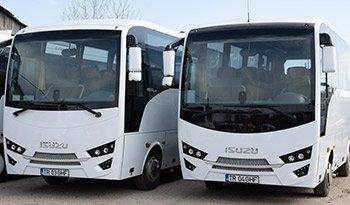 Flota autocare Transcar SRL